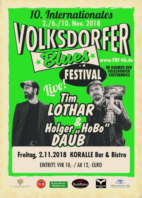 Volksdorfer Blues Festival - Tim Lothar & Holger 'HoBo' Daub