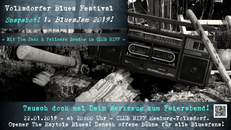 1. BluesJam im CLUB RIFF 2019