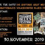 30.11.2019 – 11.Volksdorfer Blues Festival – Wagnerhof im Museumsdorf Volksdorf