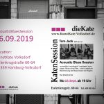 16.09.2019 – Acoustic Blues Session (ABS) – KunstKate Volksdorf