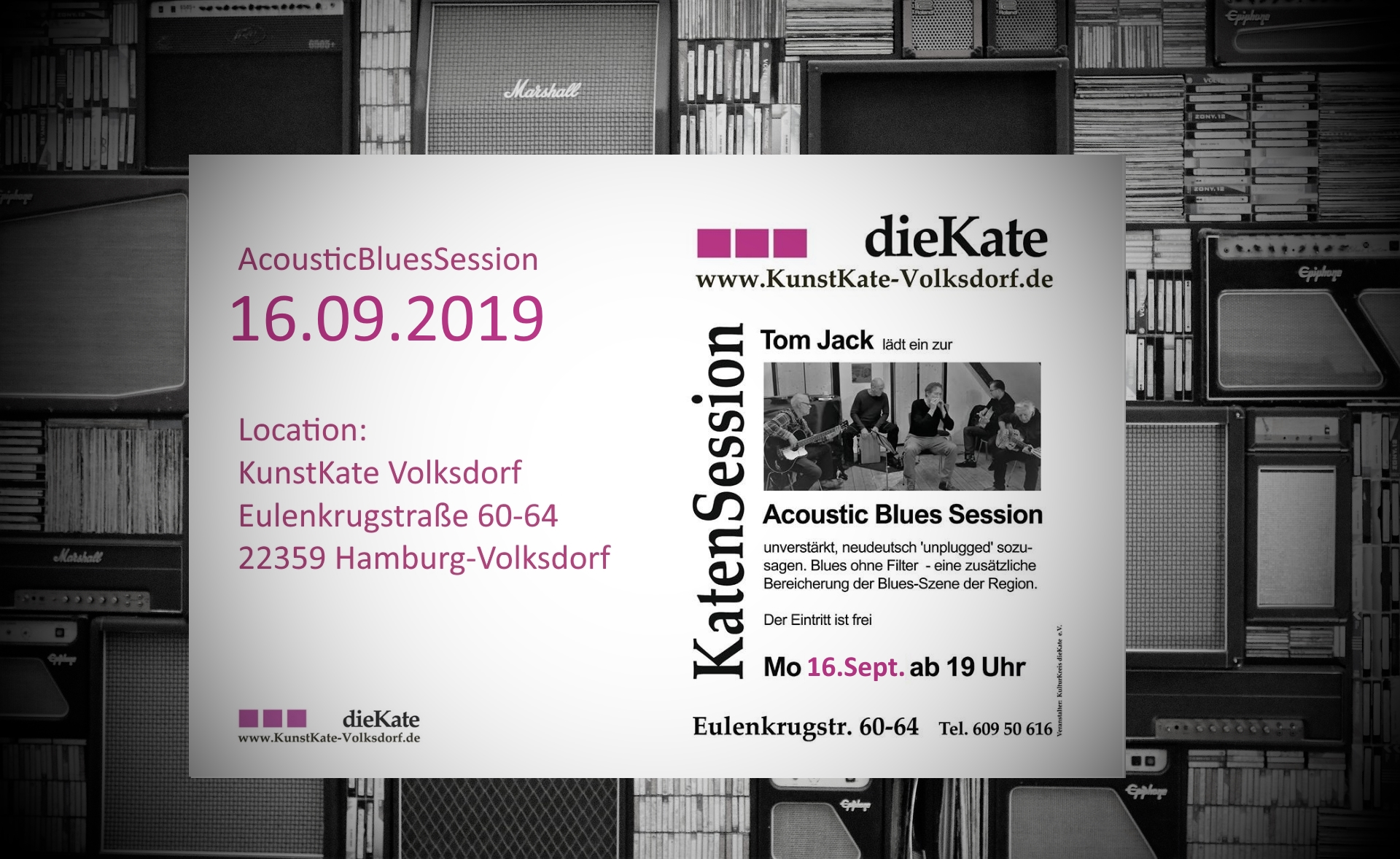 Acoustic Blues Session (ABS) – KunstKate Volksdorf