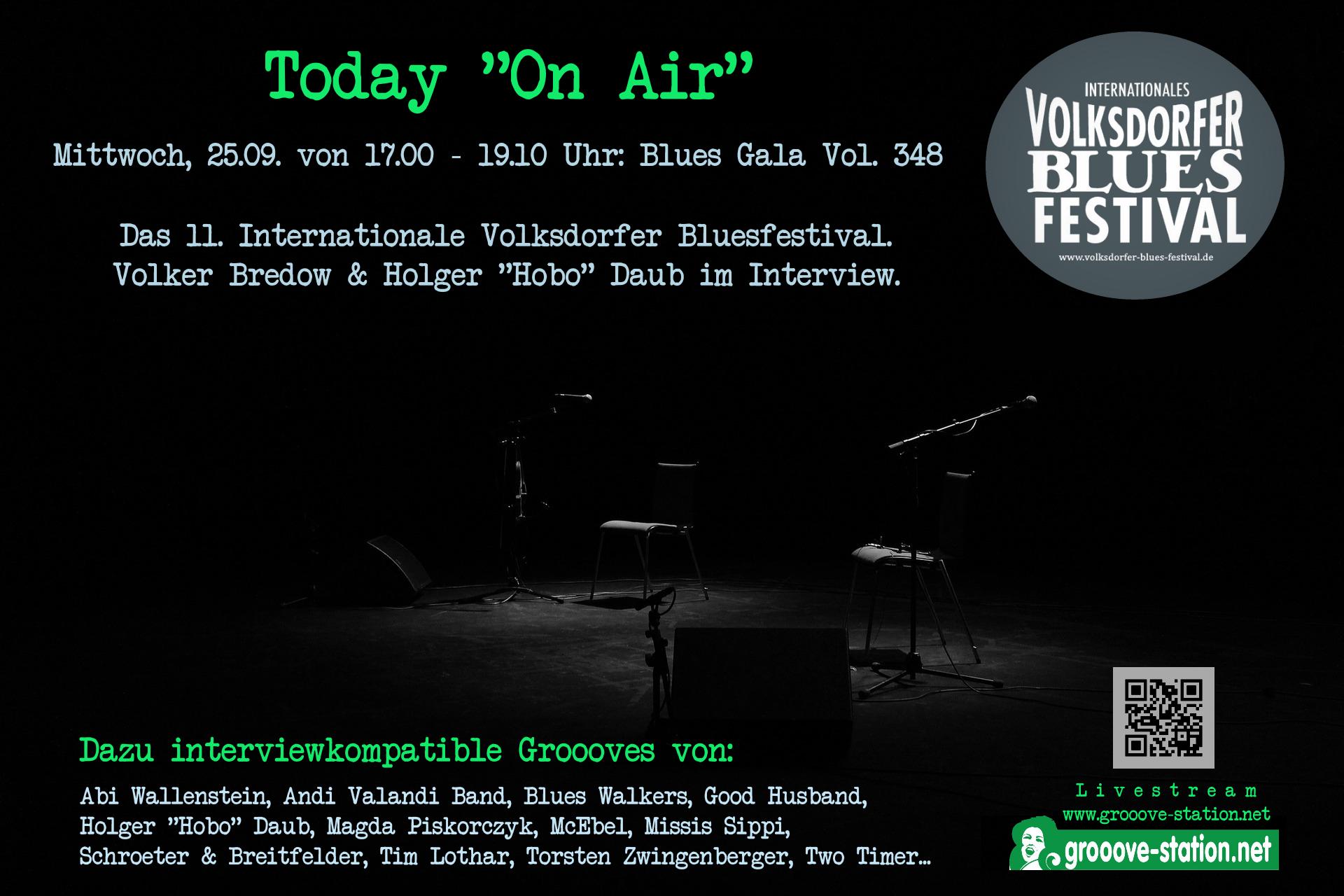 """Today """"On Air"""" 25.09.2019 von 17.00 – 19.10 Uhr"""