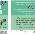 """07.03.2020 – """"Moin Mojn"""" – ein grenzenloses Konzert zum 100."""