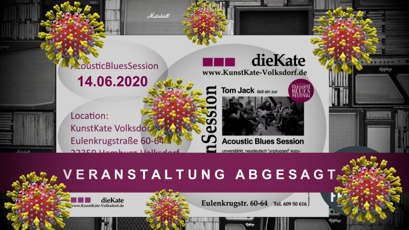Acoustic Blues Session Abgesagt Juni 2020