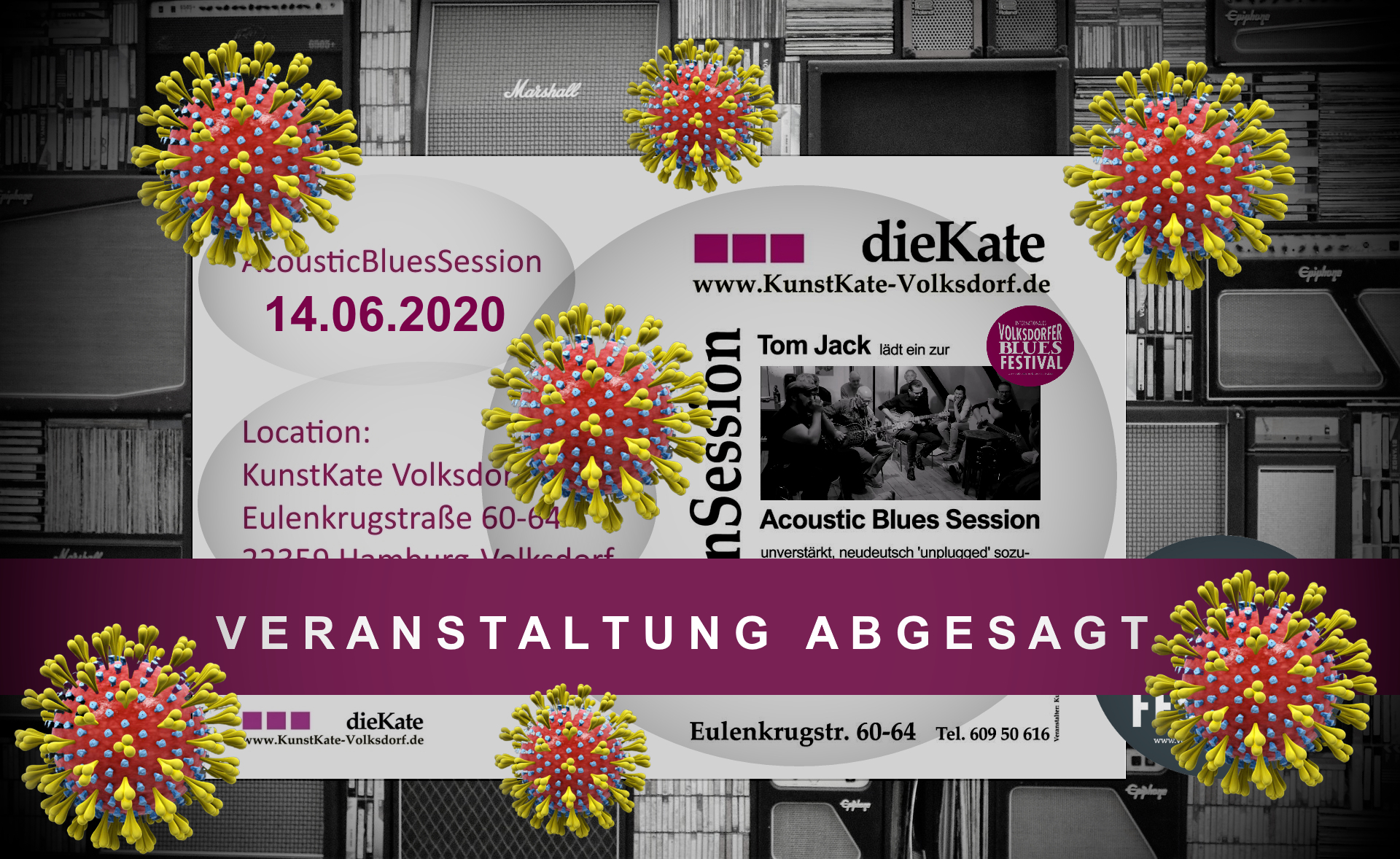 14.06.2020 – Acoustic Blues Session (ABS) – KunstKate Volksdorf