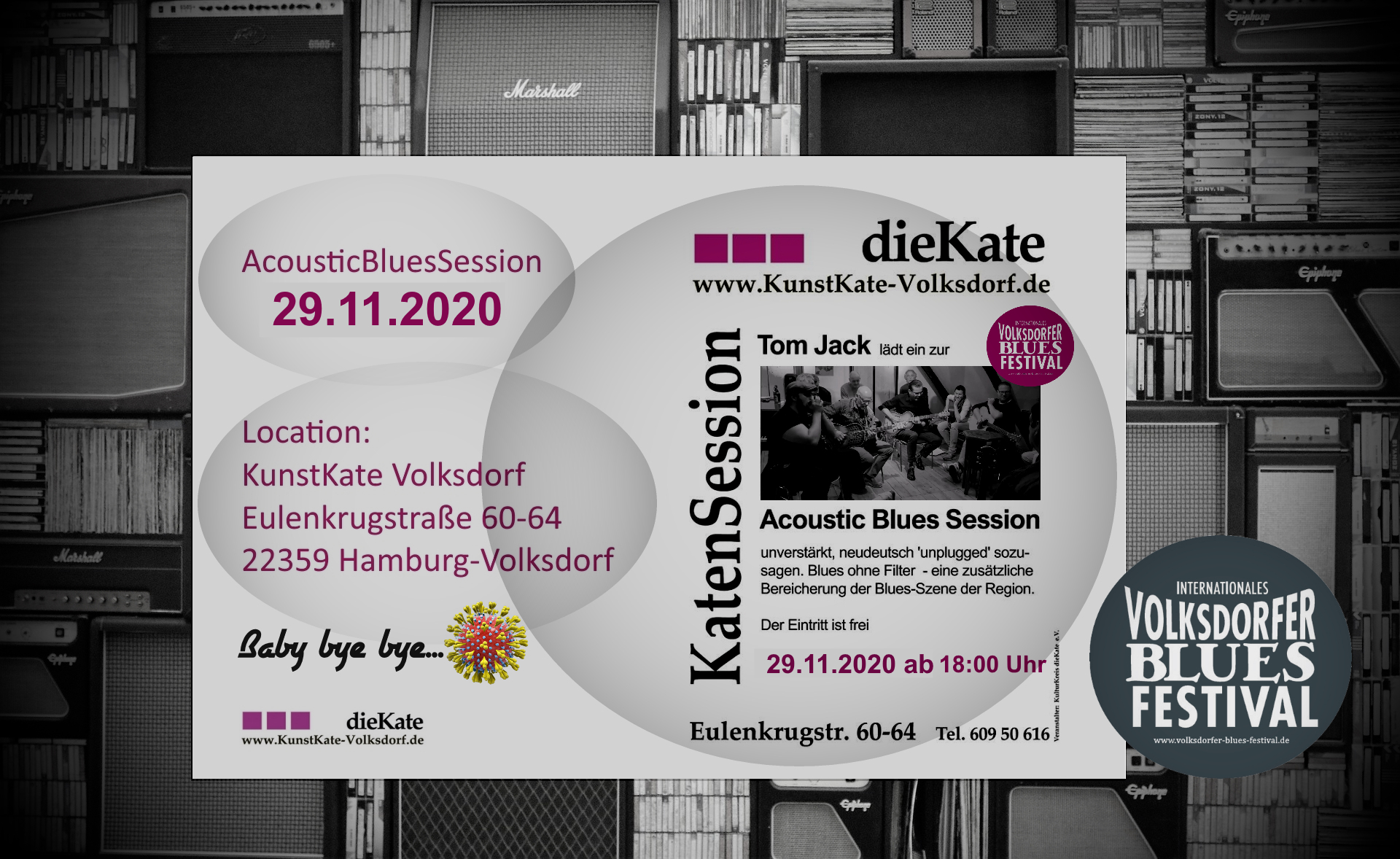 29.11.2020 – Acoustic Blues Session (ABS) – KunstKate Volksdorf