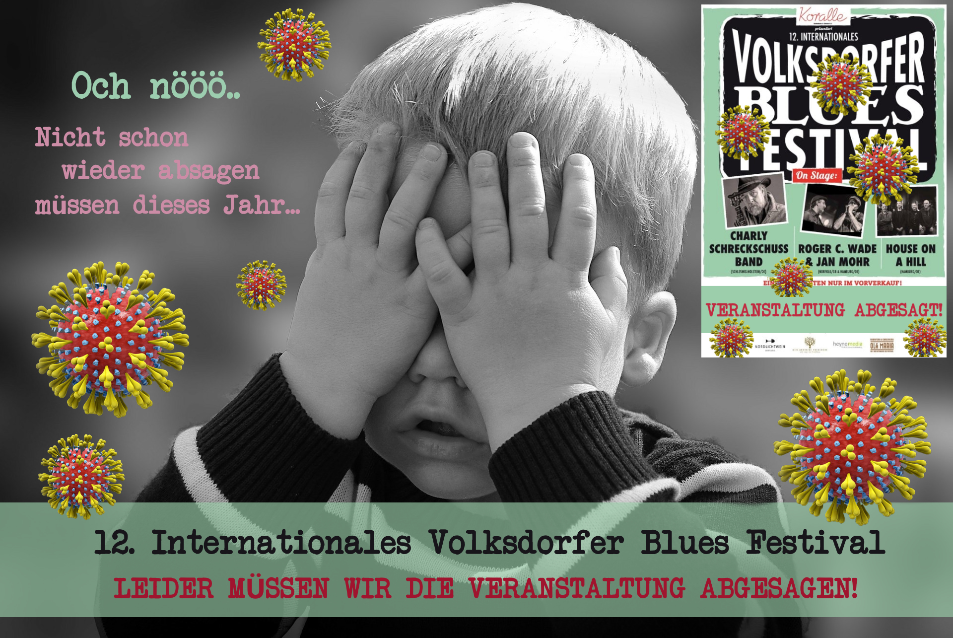 21.11.2020 – 12. Internationales Volksdorfer Blues Festival abgesagt
